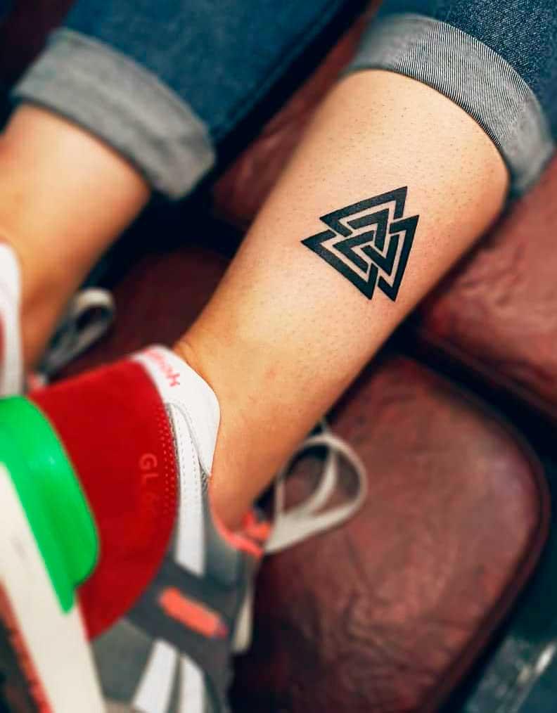 triangle form tattoo ideas