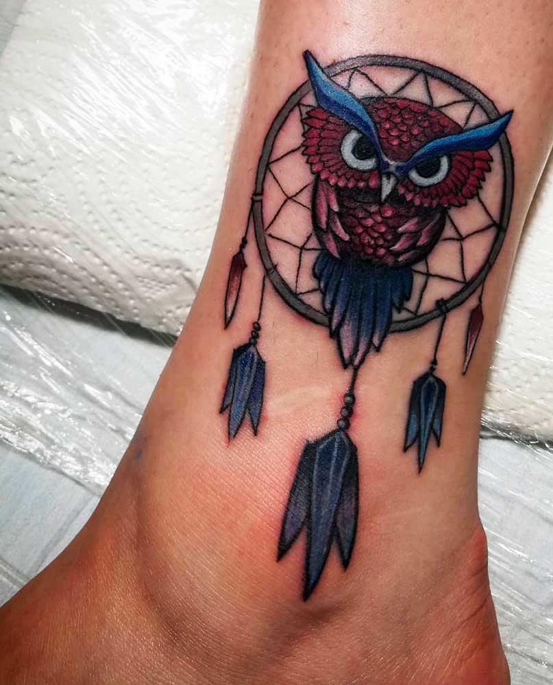 delicate leg tattoos