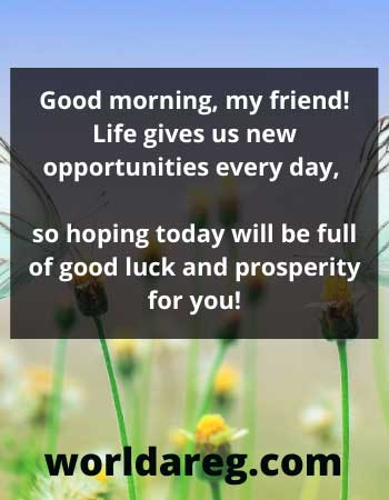 quotes about Life gives us new opportunities every day