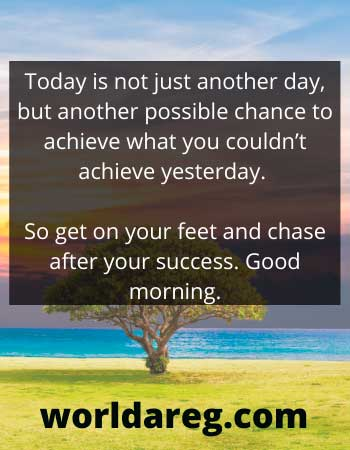 your success sweet morning message for people