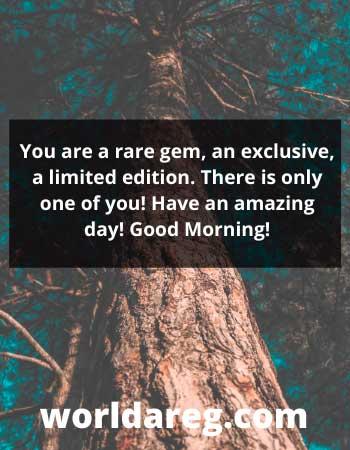 amazing day Good Morning word