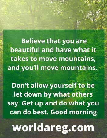 GOOD MORNING QUOTES WORDS images