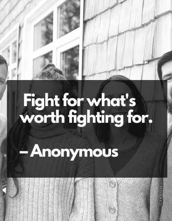 fight saying for success in life