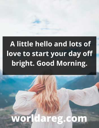good morning good quotes