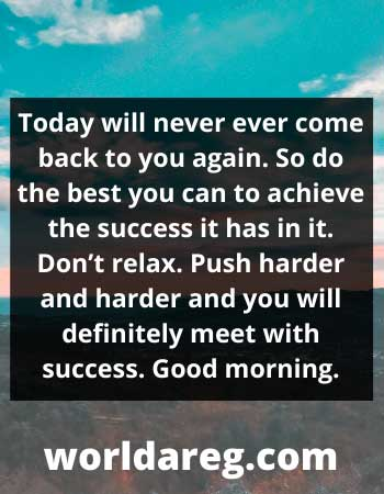 definitely meet with success. Good morning word