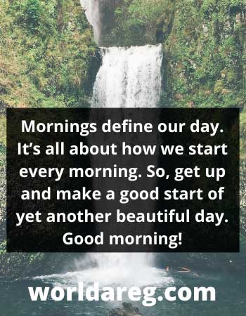 a good start good morning message for someone special