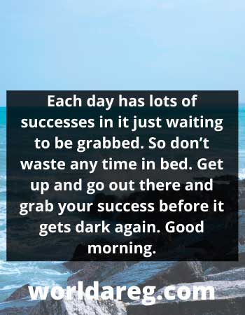 good morning prayer wishes Each day has lots of successes