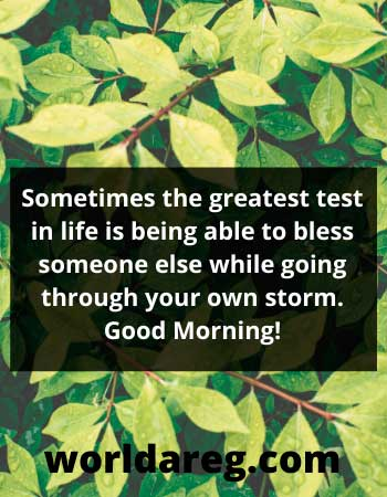 greatest test in life quotes