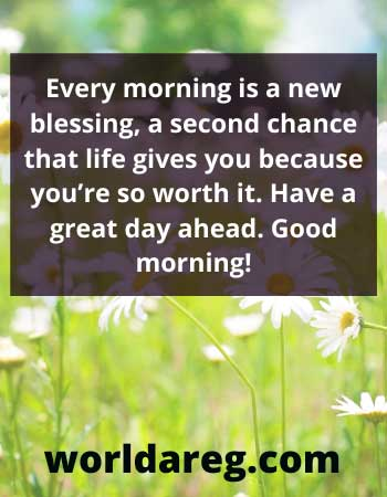 second chance that life good morning love quotes