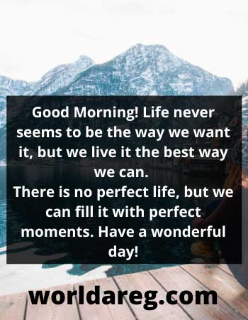 best morning quotes for perfect moments