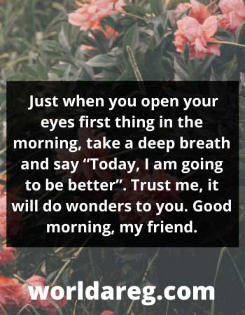 deep breath and say good morning quotes about