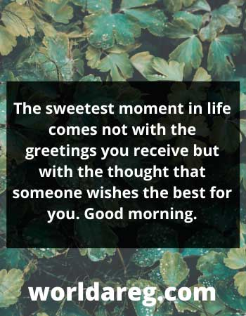 GOOD MORNING QUOTES WORDS with images 2021