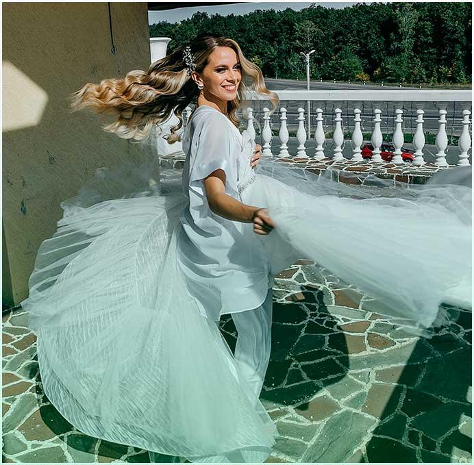new wedding photo for bride