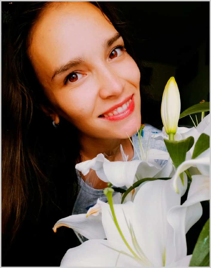beautiful smile portrait woman photography