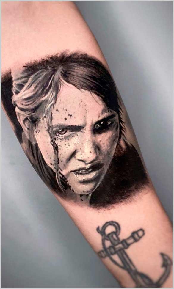 little female tattoos on arm design ideas