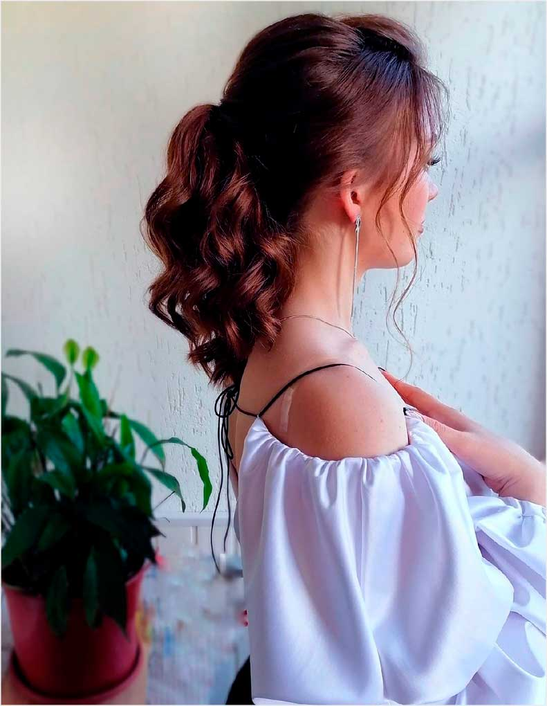 long haircuts female curly style over 30