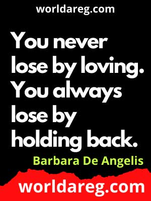 anniversary quotes for him - You never lose by loving