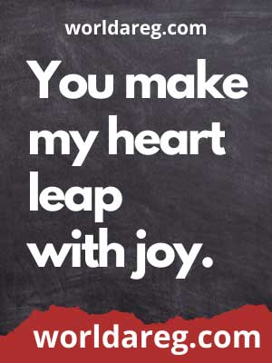 you make my heart poetry love quotes for him
