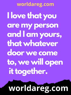 you are my person love quotes for him poems